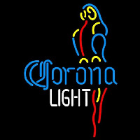 Corona Light Parrot Beer Sign Neon Sign