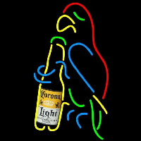 Corona Light Parrot Bottle Beer Sign Neon Sign