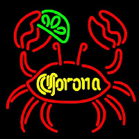 Corona Lime Crab Beer Sign Neon Sign