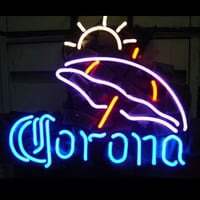 Corona Umbrella Neon Sign