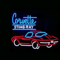 Corvette Sting Ray Neon Sign
