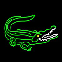 Crocodile Neon Sign