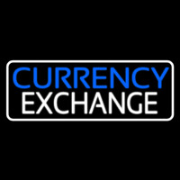 Currency E change Neon Sign