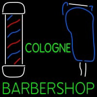 Custom Cologne Barbershop Neon Sign