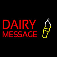 Custom Dairy With Logo Neon Sign