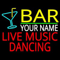 Custom Live Music Dancing Neon Sign