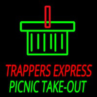 Custom Trappers E press Picnic Take Out Neon Sign