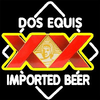 DOS Equis Imported Beer Sign Neon Sign