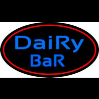 Dairy Bar With Logo Neon Sign