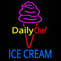 Dairy Chef Ice Cream Neon Sign