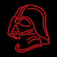 Darth Vader Helmet Star Wars Neon Sign