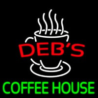 Debs Coffee House Neon Sign
