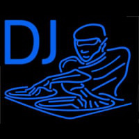 Dj Disc Jockey Disco Music 1 Neon Sign