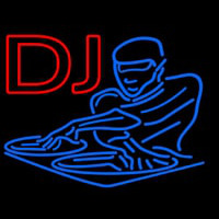 Dj Disc Jockey Disco Music 2 Neon Sign