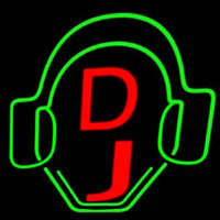Dj Logo Neon Sign