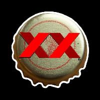 Dos Equis Amber Me ico Bottle Cap Beer Sign Neon Sign