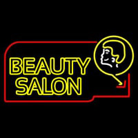 Double Stroke Beauty Salon Neon Sign