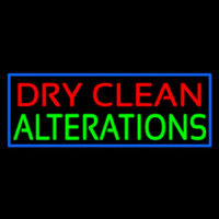 Dry Clean Alterations Neon Sign