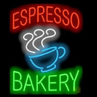 Espresso Bakery Neon Sign