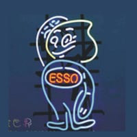 Esso Oil Neon Sign