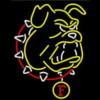 Ferris State Bulldogs Primary Neon Sign