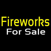Fireworks For Sale Neon Sign