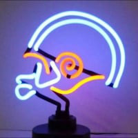 Football Desktop Neon Sign