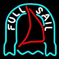 Fosters Full Sail Beer Sign Neon Sign