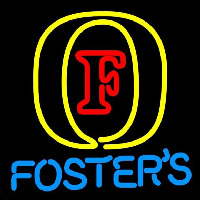 Fosters Initial Beer Sign Neon Sign