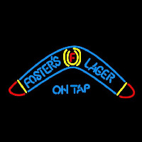 Fosters Lager Boomerang Beer Sign Neon Sign