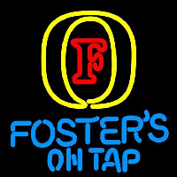 Fosters On Tap Beer Sign Neon Sign