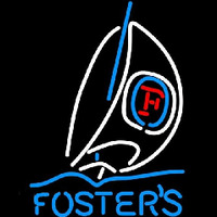 Fosters Sailboat Beer Sign Neon Sign