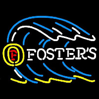 Fosters Tidal Wave Beer Sign Neon Sign