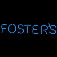Fosters Word Beer Sign Neon Sign