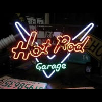 GARAGE HOT ROD Neon Sign