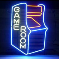Gameroom Retro Neon Sign
