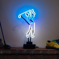 Golf Desktop Neon Sign