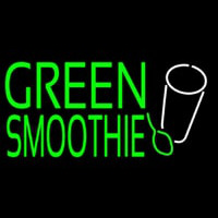 Green Smoothie Neon Sign