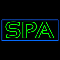 Green Spa Neon Sign