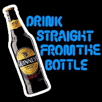 Guinness Bottole Beer Sign Neon Sign