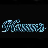 HammS Hamms Logo Pub Store Display Neon Sign