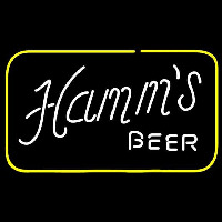 Hamms Square Beer Sign Neon Sign