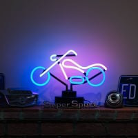 Harley Motor Desktop Neon Sign