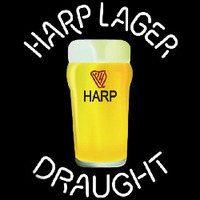 Harp Lager Draught Glass Beer Sign Neon Sign