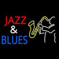 Jazz And Blues Neon Sign