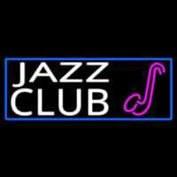Jazz Club With Sa ophone Neon Sign