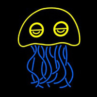 Jellyfish Neon Sign