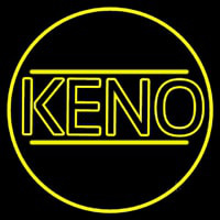 Keno Border Neon Sign