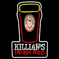 Killians Irish Red Pint Glass Of Beer Sign Neon Sign
