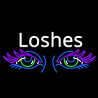 Lashes Eyes Neon Sign